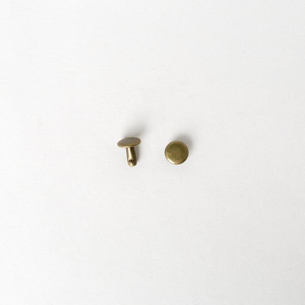 固定釦 古銅色 8*8mm 30組