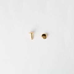 Flat Rivet Gold 8*10mm 30 Set