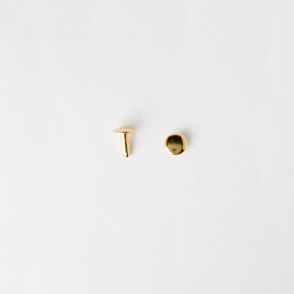 固定釦 金色 8*10mm 10組