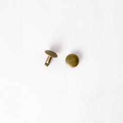 固定釦 古銅色 10*10mm 30組