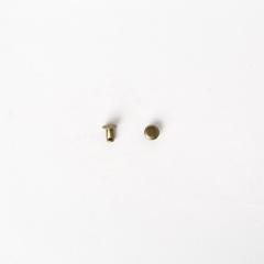 純銅固定釦 古銅色 6*6mm 10組