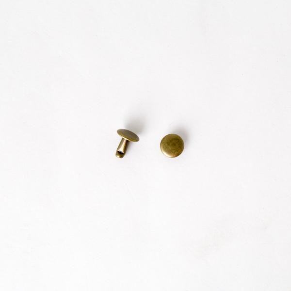 固定釦 古銅色 8*8mm 200+-5%組 不折扣