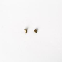 純銅固定釦 古銅色 6mm 100+-5%組 不折扣