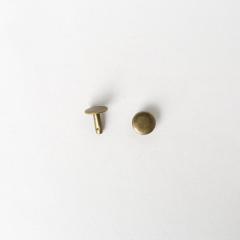 純銅固定釦 古銅色 10X10mm 100+-5%組 不折扣