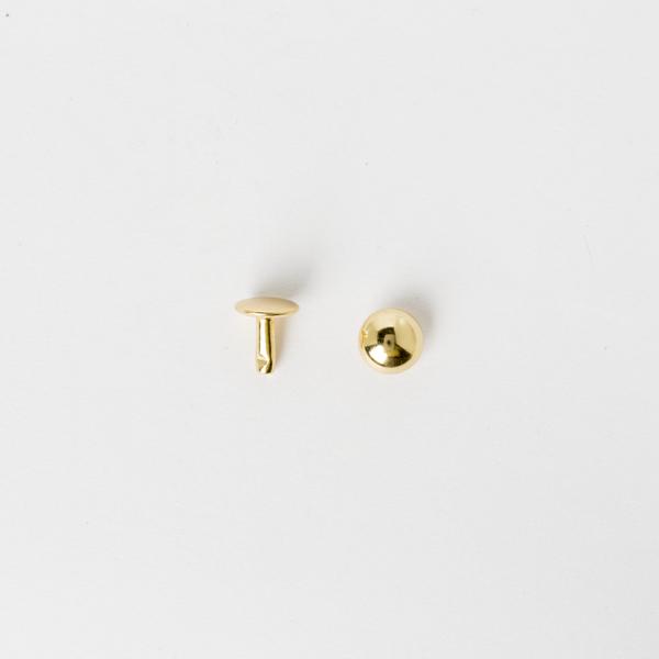 圓凸固定釦 青銅色 10mm 20組