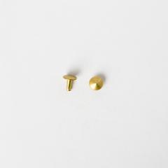 圓錐釦 黃銅色 8x8mm 10組