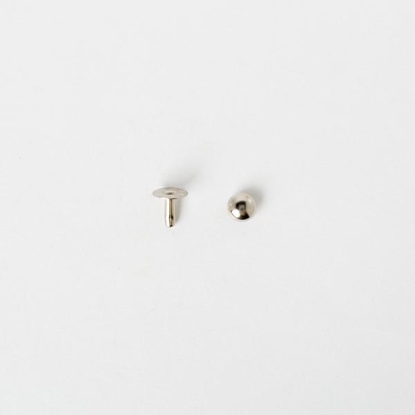 圓錐釦 鎳白色 8x8mm 10組