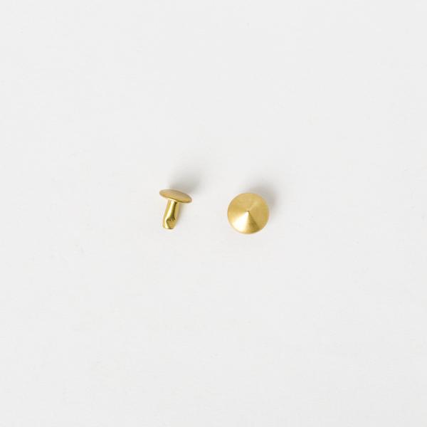 圓錐釦 黃銅色 10x8mm 10組