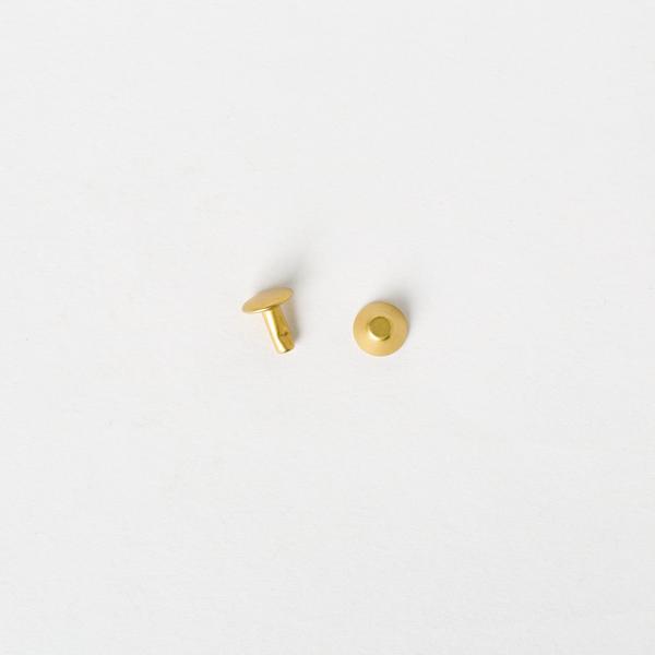 純銅水桶釘 黃銅色 8x8mm 10組