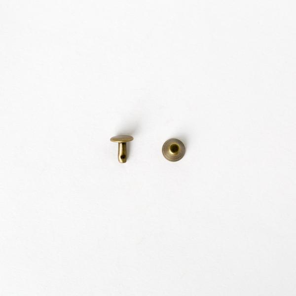 純銅水桶釘 青古銅色 8x8mm 10組
