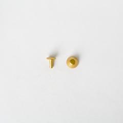 純銅水桶釘 黃銅色 10x8mm 10組