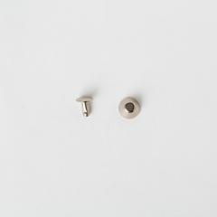純銅水桶釘 鎳白色 10x8mm 10組