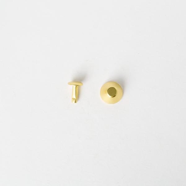 純銅水桶釘 黃銅色 12x10mm 10組
