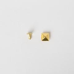 日製角釦 金色 10mm 5組