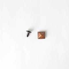 日製角釦 古銅色 10mm 5組