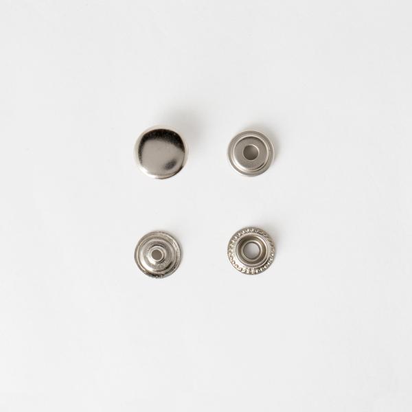 牛仔釦 鎳白色 13mm 8組
