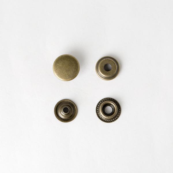牛仔釦 古銅色 15mm 8組
