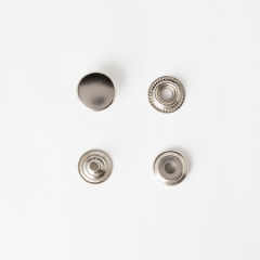 牛仔釦 鎳白色 15mm 8組