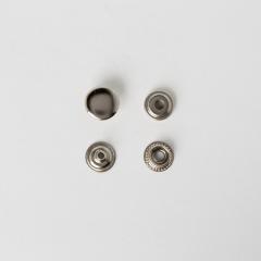 純銅牛仔釦 鎳白色 13mm 5組