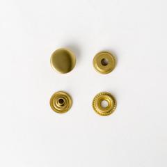 純銅牛仔釦 黃銅色 15mm 4組