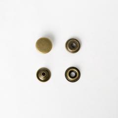 純銅牛仔釦 古銅色 15mm 4組