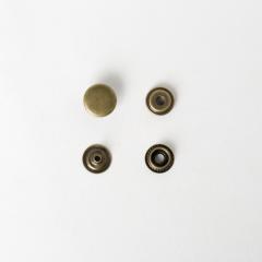 純銅牛仔釦 古銅色 13mm 50+-5%組 不折扣