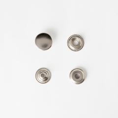 牛仔釦 鎳白色 15mm 50+-5%組 不折扣