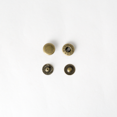 Spring Snap Brass 12mm 10 Set