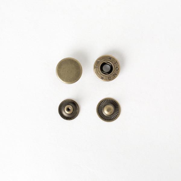 四合釦 古銅色 15mm 8組