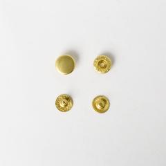 純銅四合釦 黃銅色 12mm 5組