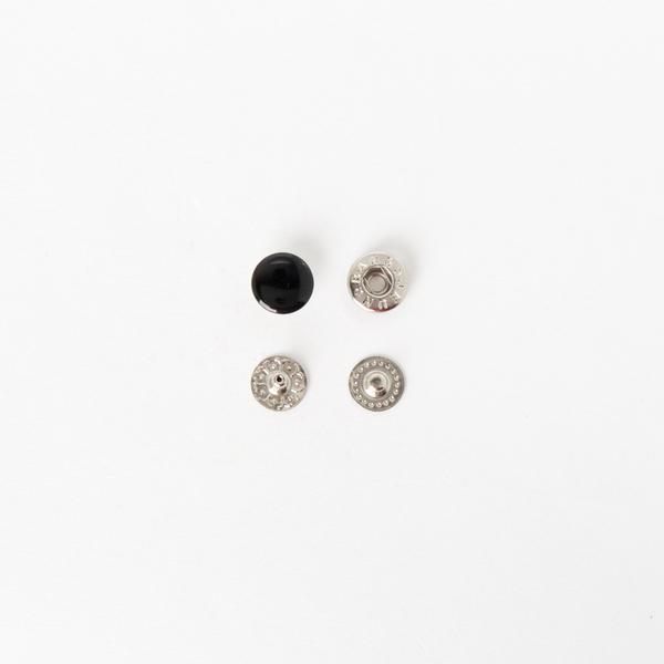 四合釦 洘漆黑色 10mm 100+-5%組 不折扣