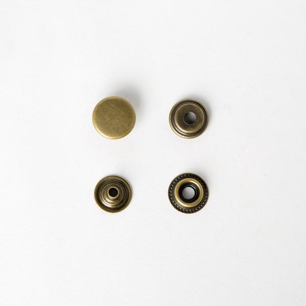 四合釦 古銅色 15mm 50+-5%組 不折扣