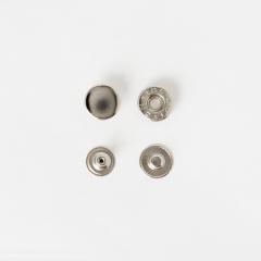 純銅四合釦 鎳白色 15mm 50+-5%組 不折扣