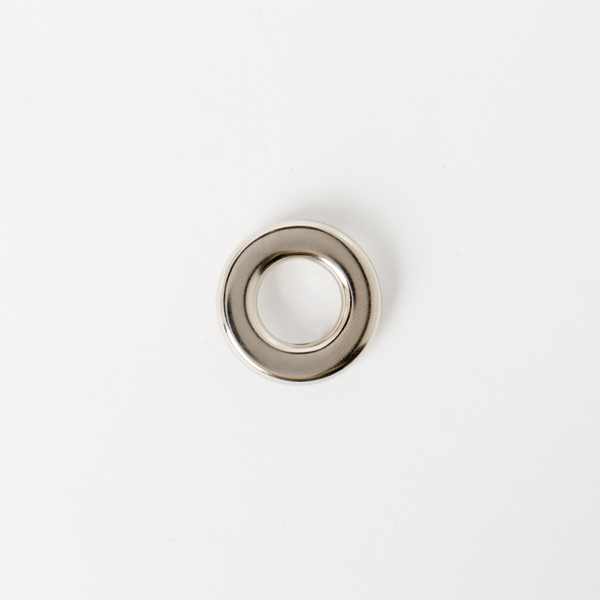 壓腳環釦 鎳白色 25mm 2組
