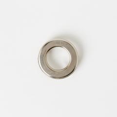 壓腳環釦 鎳白色 28mm 2組
