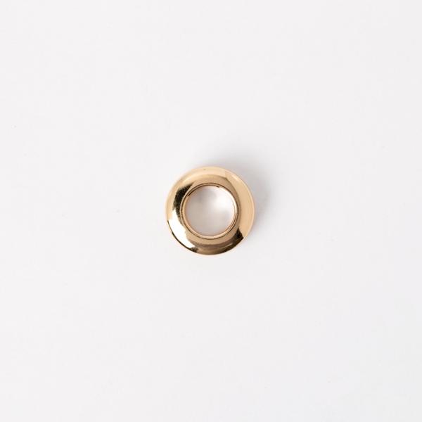銅製雙面環釦 金色 20mm 內徑10mm 2組