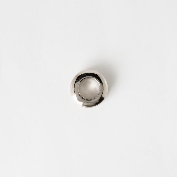 銅製雙面環釦 鎳白色 20mm 內徑10mm 2組