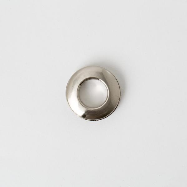 雙面環釦 鎳白色 28mm 內徑15mm 2組