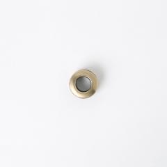 銅製雙面環釦 銅色 15mm 內徑7mm 2組