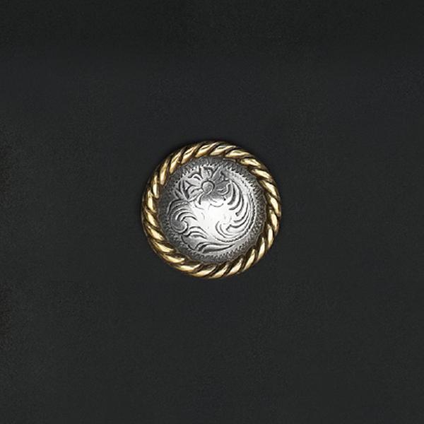 鑄幣飾釦 唐草 24mm 不二價