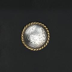 鑄幣飾釦 唐草 30mm 不二價
