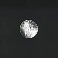 鑄幣飾釦 女神 24mm 不二價