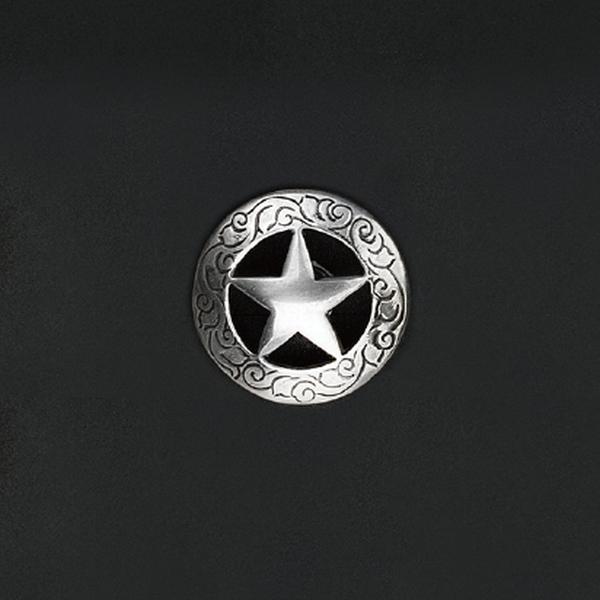 鑄幣飾釦 德凱撒鉻色星 30mm 不二價
