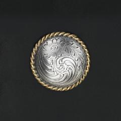唐草鑄幣飾釦 37mm 不二價