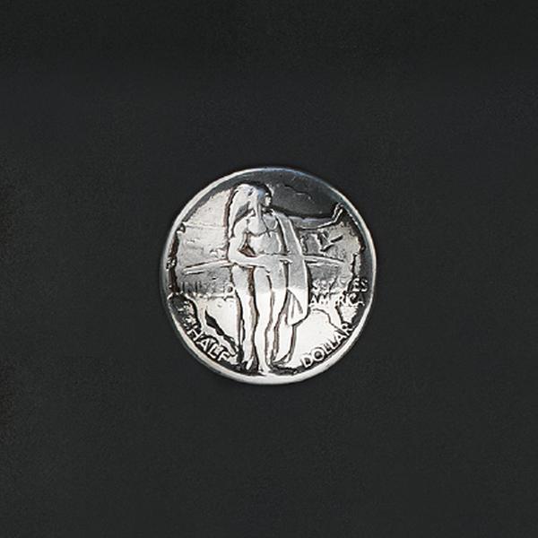 鑄幣飾釦 俄勒岡印地 30mm 不二價