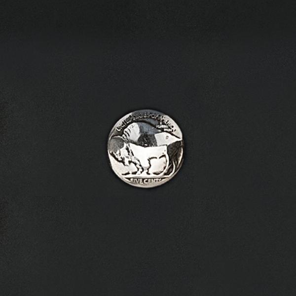 真幣飾釦 犛牛圖 20mm
