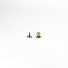 Solid Brass Button Stud Brass 10mm 1 Set