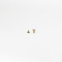 平面螺絲釦 古銅色 8mm 2組