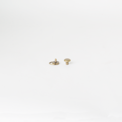 D型平面螺絲釦 古銅色 10mm 2組