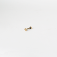 8*17mm Screw Post Brass 2 Set